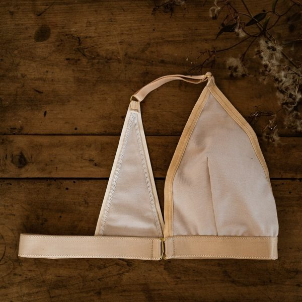 soutien-gorge mono-bonnet post-mastectomie en coton nude