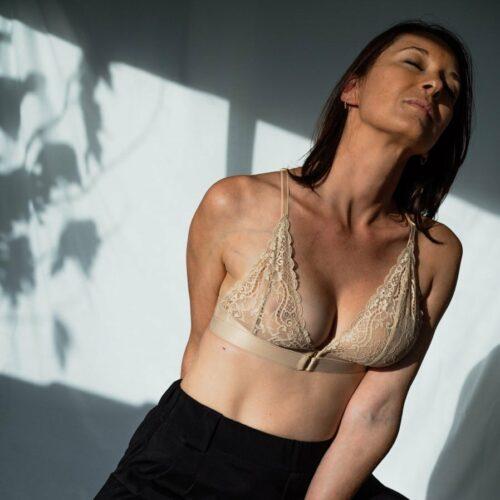 soutien-gorge post-mastectomie en dentelle oeko tex chair