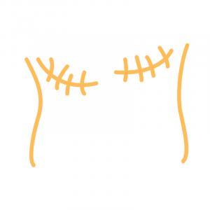 Poitrines Plates